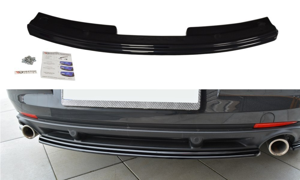 Splitter Tylny Środkowy Renault Laguna mk 3 Coupe - GRUBYGARAGE - Sklep Tuningowy
